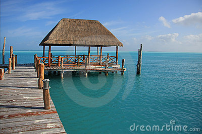 Caribbean dock