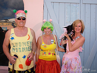 Caribbean Dog Parade Editorial Photo