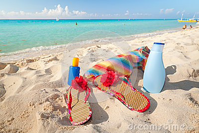 Caribbean holidays on the beach
