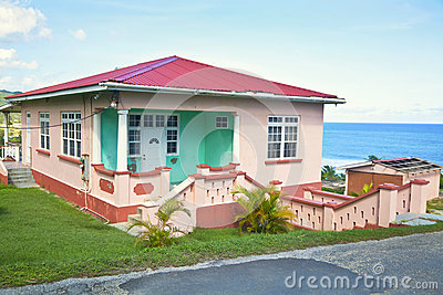 Miraculous Caribbean House Royalty Free Stock Image Image 16446 Largest Home Design Picture Inspirations Pitcheantrous