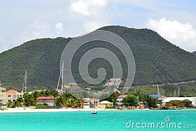 Caribbean Island Mountain
