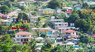 Caribbean living Editorial Image