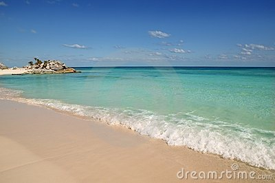 Caribbean Mexico Tulum turquoise tropical beach