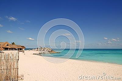 Caribbean Mexico Tulum turquoise tropical beach