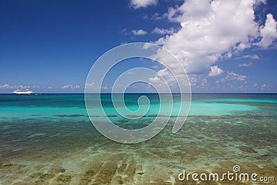 Caribbean Ocean Panorama