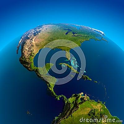 Caribbean, Pacific and Atlantic