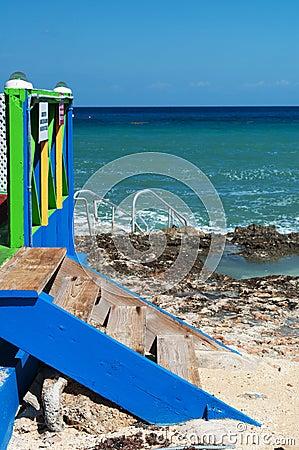 Caribbean Paradise Steps