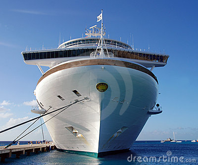 Caribbean Princess cruise ship Editorial Photo