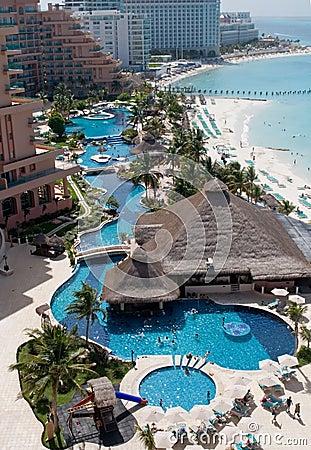 Free Caribbean Resort Hotel Stock Photography - 2932302