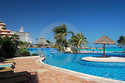 Caribbean Resort Pool