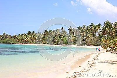 Caribbean Samaná beach