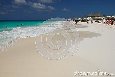Caribbean Sea Beach. Cuba