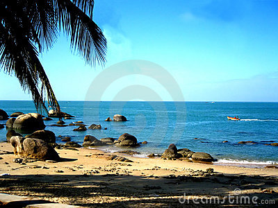 Caribbean Sea-side