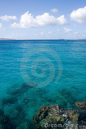 Caribbean Waters in the Virgin Islands