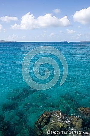 Caribbean Waters in the Virgin Islands