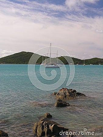 Free Caribbean Yachting Stock Image - 105951