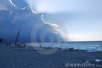 Caribean storm