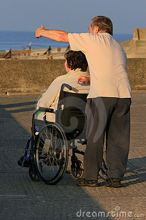 Free Caring For The Disabled Stock Photography - 303132
