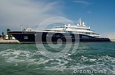 Carinthia VII Yacht, Venice Editorial Photo