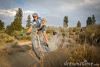 Carl Decker - Pro Cyclocross Racer Editorial Photography