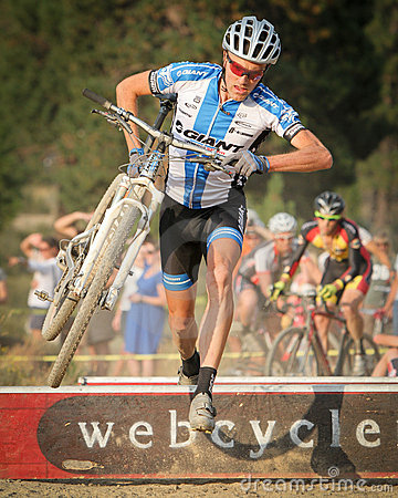Carl Decker - USA Cyclocross Pro Editorial Photo