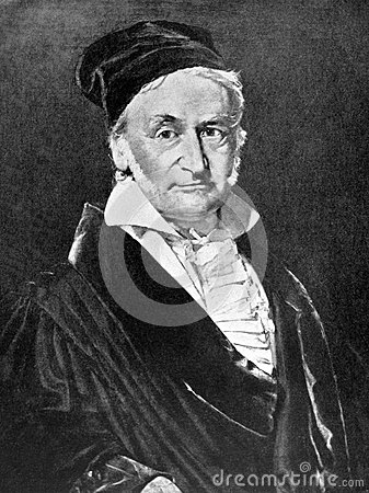 Carl Friedrich Gauss Editorial Photo