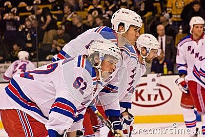 Carl Hagelin New York Rangers Editorial Image