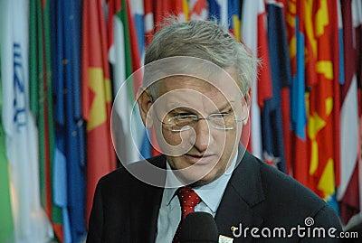 Carld Bildt Editorial Image