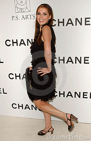 Carle Steele at the Chanel and P.S. Arts Party. Chanel Beverly Hills Boutique, Beverly Hills, CA. 09-20-07 Editorial Stock Image