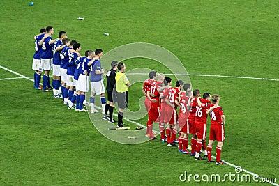 Carling Cup final - Penalties Editorial Stock Photo