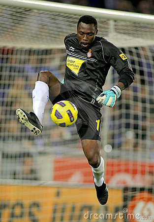 Carlos Kameni of Espanyol Editorial Photo