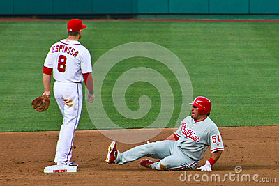 Carlos Ruiz Philadelphia Phillies Editorial Image