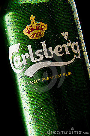 Carlsberg beer Editorial Image