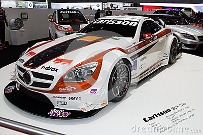 Carlsson SLK 340 Judd World Premiere - Geneva Motor Show 2013 Editorial Photography