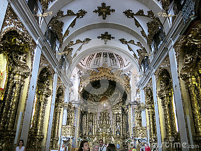 Carmelitas Church in Porto Editorial Stock Photo