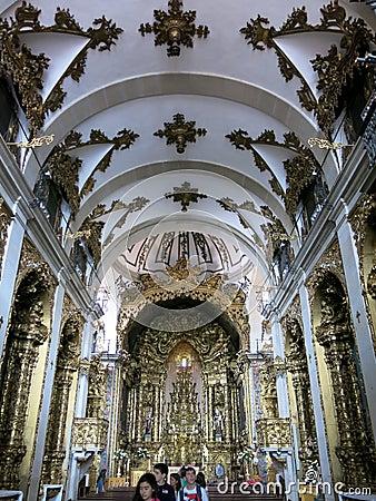 Carmelitas Church in Porto Editorial Stock Image