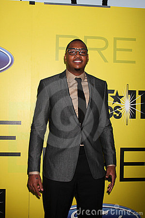 Carmelo Anthony Editorial Image