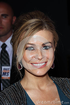 Carmen Electra at the 19th Annual Race To Erase MS, Century Plaza, Century City, CA 05-19-12 Editorial Stock Photo