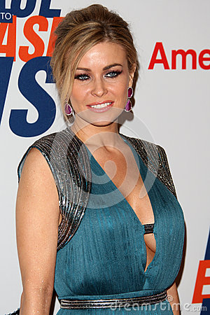 Carmen Electra arrives at the 19th Annual Race to Erase MS gala Editorial Image