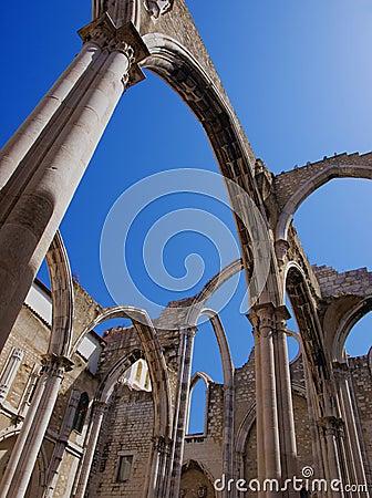 Carmo Ruins in Lisbon