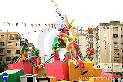 Carnaval Photo stock éditorial