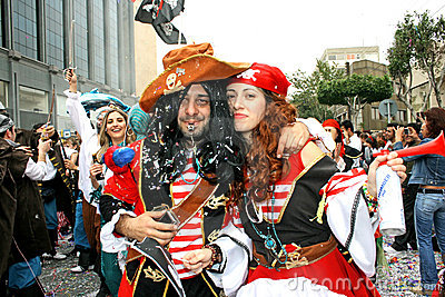 Carnaval Redactionele Stock Afbeelding