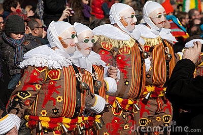Carnaval de Binche. Editorial Stock Image