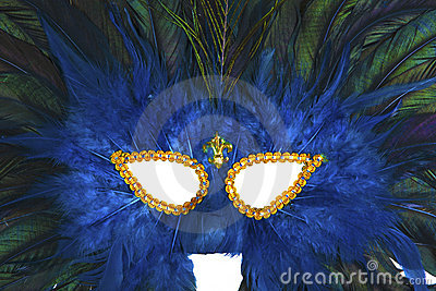 Carnaval Mask Close-Up