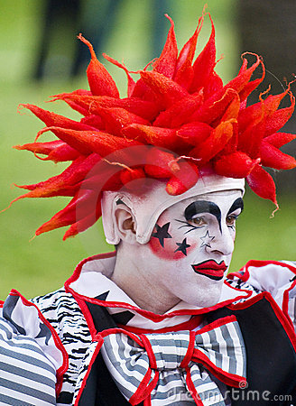 Carnaval in Montevideo Editorial Stock Image