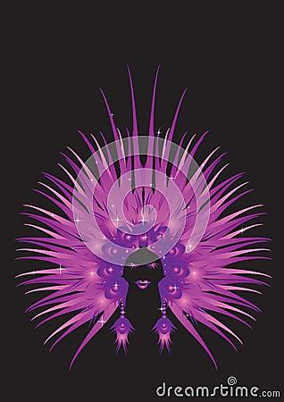 Carnaval queen purple