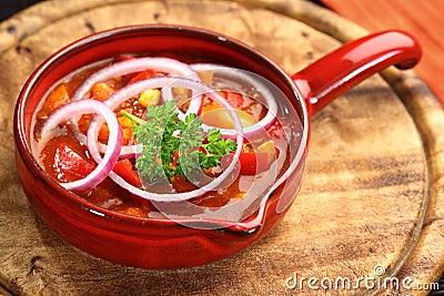 Carne κουζίνα μεξικανός τσίλι con