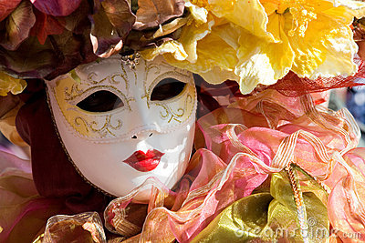Carneval Mask Stock Photography - Image: 4259512