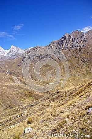 Carnicero,  the butcher , in the  Cordillera