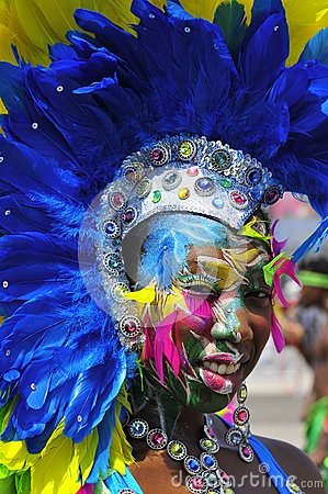 Carnival beauty Editorial Image